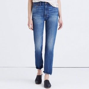 Madewell High Rise Perfect Vintage Jean